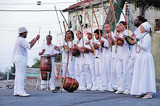 orquestra berimbaus