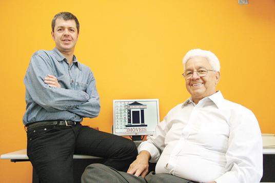 Robson e Geraldo Alves avaliam que mercado está aquecido, tanto para negociações residenciais quanto comerciais