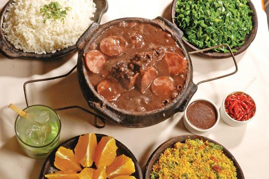 Suculenta feijoada completa é apenas um dos destaques de restaurante mineiro na região