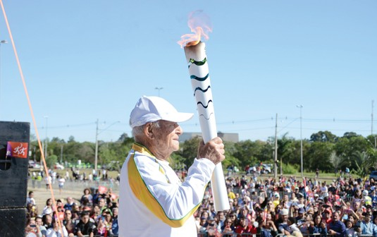 Tocha olímpica passará pela Vila Mariana domingo