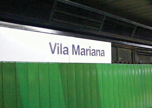 Resultado de imagem para estação vila mariana