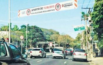 CET informou que não pretende modificar limite em vias arteriais como a Rua Sena Madureira, nem reduzir fiscalização ou radares