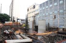 Futura Estação Hospital São Paulo, da linha 5 - Lilás, do metrô, deve ser inaugurada até o fim de 2017. A maioria das paradas terá prédios administrativos externos