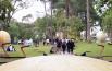 Alameda solar, apenas uma entre inúmeras atrações do Parque com entrada gratuita na Água Funda, perto do Zoológico e Jardim Botânico