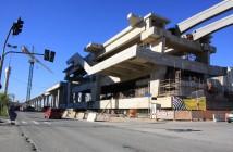 Estação Jardim Aeroporto em construção