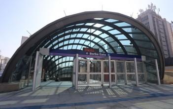 estações inauguradas
