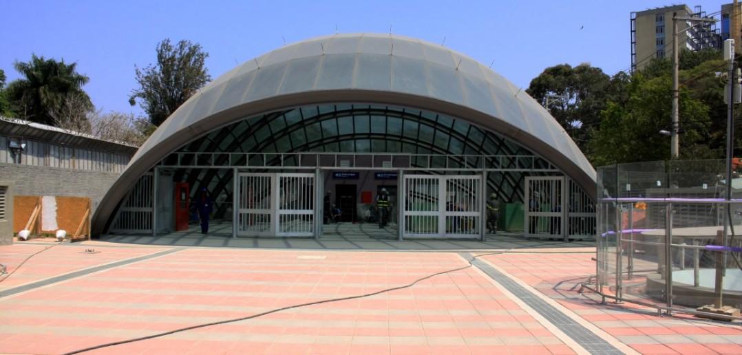 Estação AACD é uma das que parecem mais adiantadas na expansão da Linha 5 - Lilás