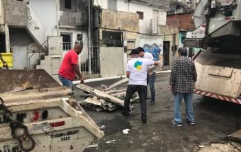 Benê Mascarenhas, Prefeito Regional de Vila Mariana esteve presente e participou do Bairro Lindo
