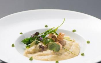 A polenta com ragu de cogumelos é um dos pratos preparados pelo Taste It para a Restaurant Week, que vai até domingo, 15