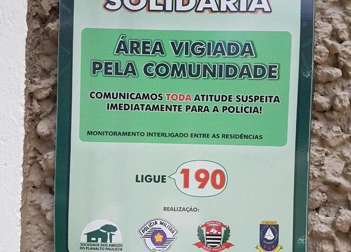 vizinhança solidária