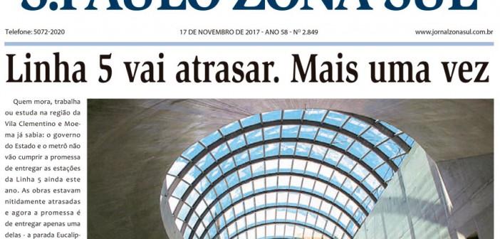 Edição 2849 – 17 de novembro de 2017