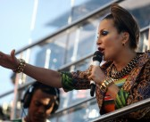 Claudia Leitte encerra carnaval de rua