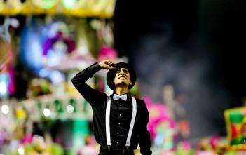 Escola de samba da Vila Mariana contou a história do Carnaval pelo mundo. Foto: Leo Pinheiro/SPTuris