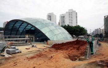 Estação Eucaliptos deveria ter sido inaugurada em janeiro