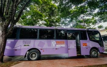ônibus lilás