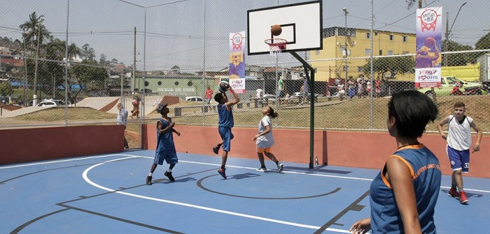 COTP faz peneiras para basquete feminino