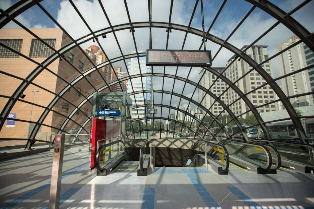 Estação Moema, da Linha 5–Lilás do Metrô. Com mais um quilômetro de trilhos, a chamada 'Linha da Saúde' passará a contar com 16,2 km de extensão e 12 paradas, desde o Capão Redondo. A rede metroviária de São Paulo terá agora 84,3 quilômetros e 75 estações.Data: 05/04/2018Local: Itapeva/SP Foto: Governo do Estado de São Paulo