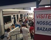 Bazar solidário contribui para as festas de formatura do Nono Ano Fundamental e Terceiro Ano Ensino Médio