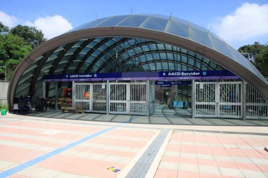 Estação AACD/Servidor. Foto: Metrô/SP