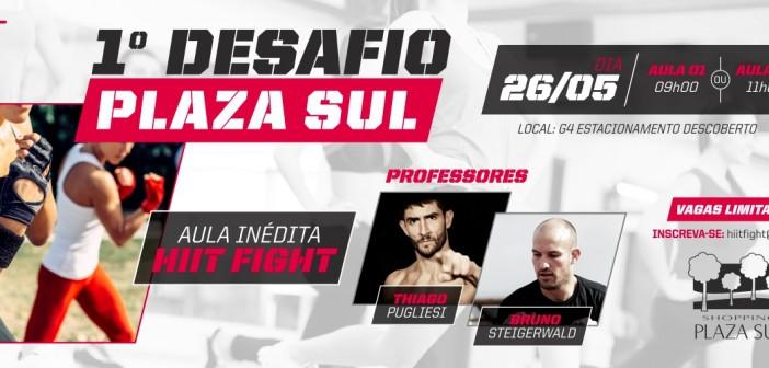 Sábado tem treinos grátis de HIIT Fight