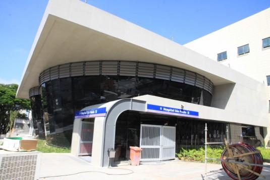 Estação Hospital São Paulo. Foto: Metrô/SP