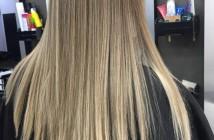 alisar os cabelos em casa