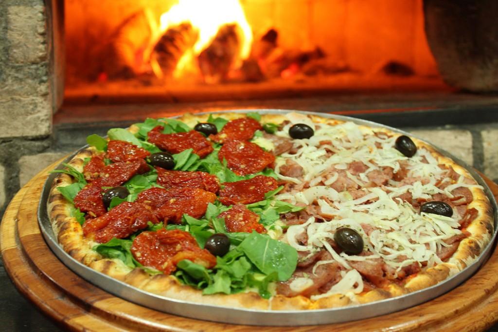 Pizza inteira...