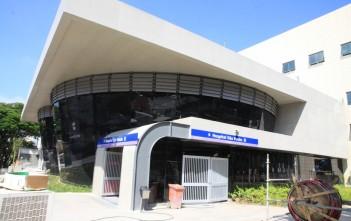 Estação Hospital São Paulo: pronta, mas fechada