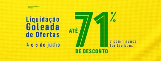 """2efa64c4d Shopping Plaza Sul promove campanha de liquidação """"Goleada de Ofertas"""""""