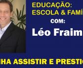 Léo Fraiman faz palestra gratuita na segunda. Inscreva-se