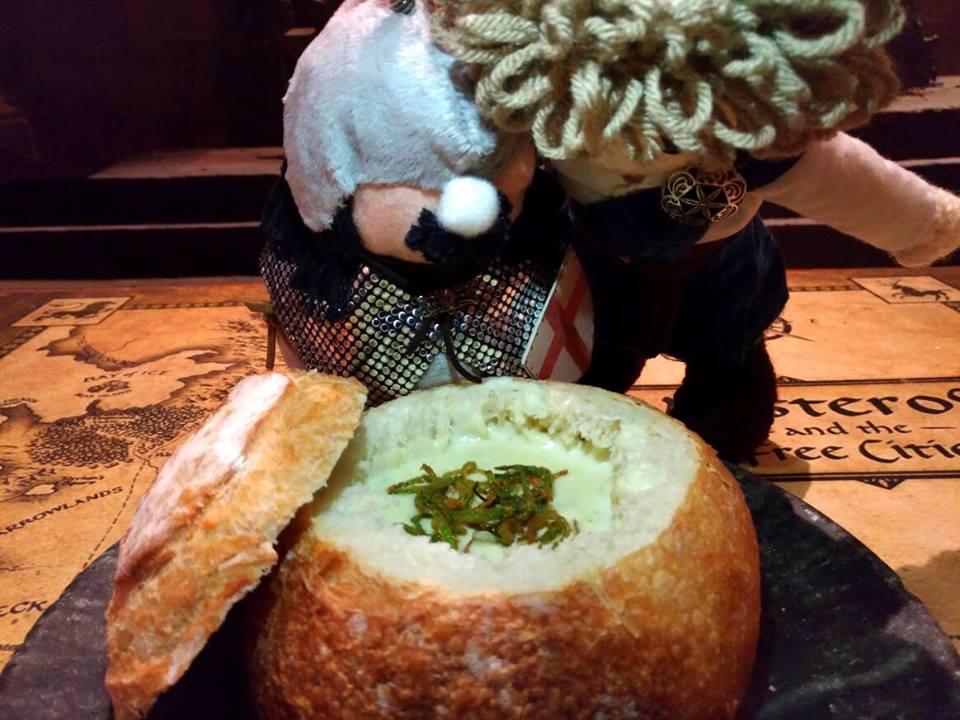 Sopa no pão