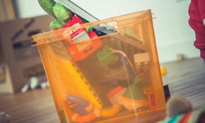 Doação de brinquedos para crianças