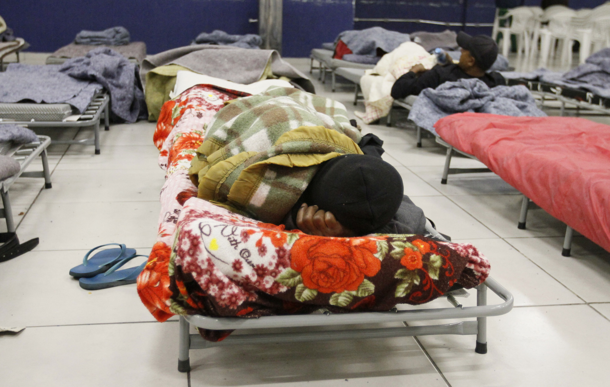 onde doar cobertores